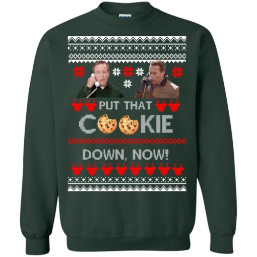 Put That Cookie Down Now Ugly Sweater shirt - image 2842 510x510