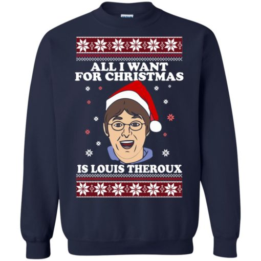 All I want for Christmas IS Louis Theroux ugly Sweater shirt - image 2950 510x510