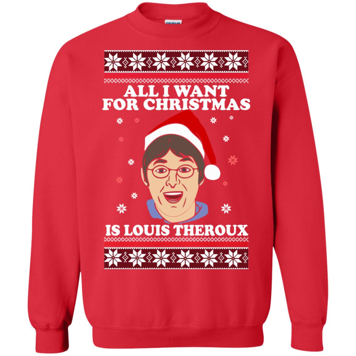 af310ba9bf91 All I want for Christmas IS Louis Theroux ugly Sweater shirt - image 2951  510x510