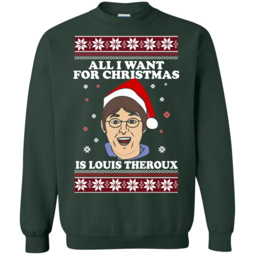 All I want for Christmas IS Louis Theroux ugly Sweater shirt - image 2952 510x510