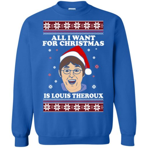 All I want for Christmas IS Louis Theroux ugly Sweater shirt - image 2953 510x510
