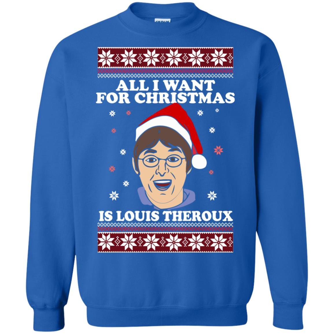 e45478c5e48e All I want for Christmas IS Louis Theroux ugly Sweater shirt - image 2953  510x510