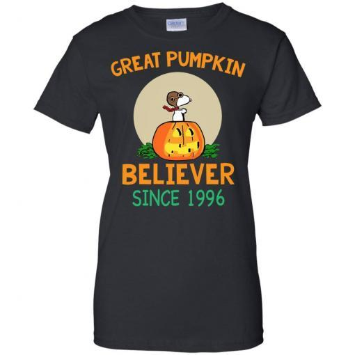 Snoopy Great Pumpkin Believer Since 1996 shirt - image 30 510x510