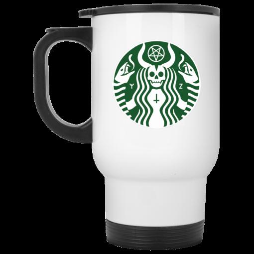 Satanic Starbuck shirt - image 30 510x510