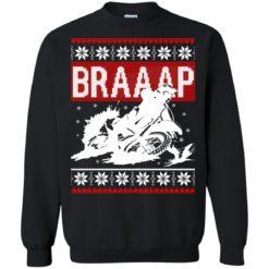 Braaap Motocross Ugly Christmas Sweater shirt - image 3029 247x247