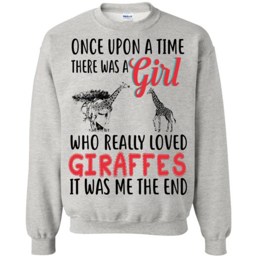 Once upon a time, there was a Girl who really loved Giraffes shirt - image 3091 510x510