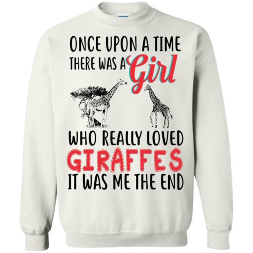 Once upon a time, there was a Girl who really loved Giraffes shirt - image 3092 510x510