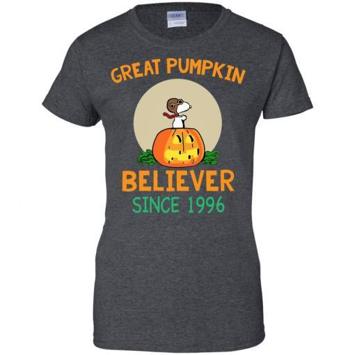 Snoopy Great Pumpkin Believer Since 1996 shirt - image 31 510x510