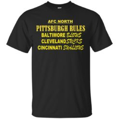 AFC North Pittsburgh rules Baltimore blows shirt - image 310 247x247