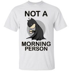 Batman Not a morning person shirt - image 3106 247x247