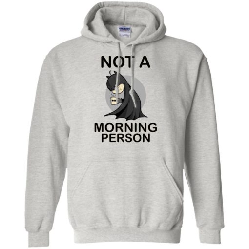 Batman Not a morning person shirt - image 3109 510x510