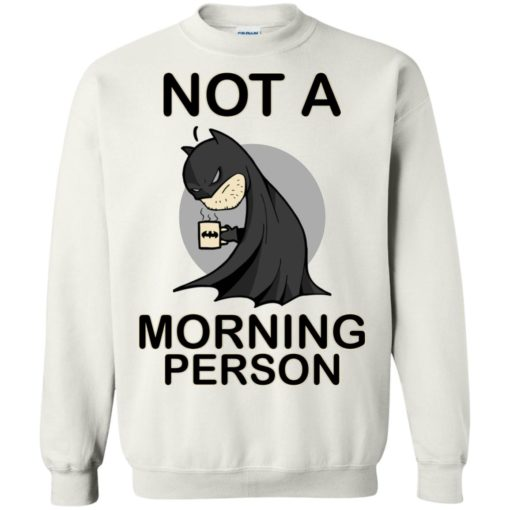 Batman Not a morning person shirt - image 3112 510x510