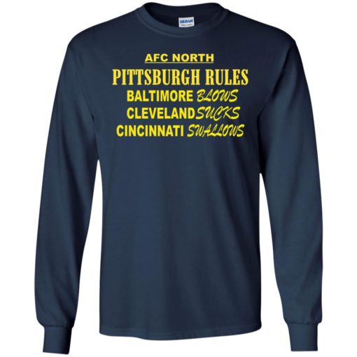 AFC North Pittsburgh rules Baltimore blows shirt - image 314 510x510