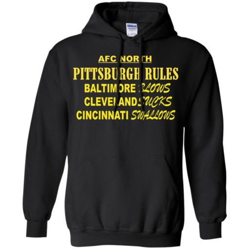 AFC North Pittsburgh rules Baltimore blows shirt - image 315 510x510