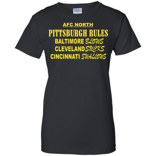 AFC North Pittsburgh rules Baltimore blows shirt - image 318 510x510