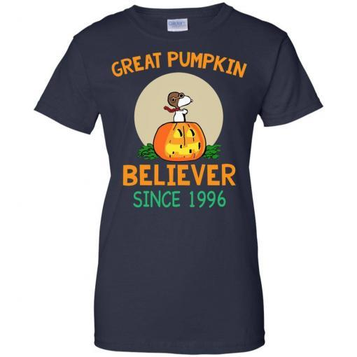 Snoopy Great Pumpkin Believer Since 1996 shirt - image 32 510x510