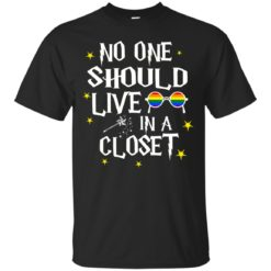 No one should live in a closet shirt - image 321 247x247