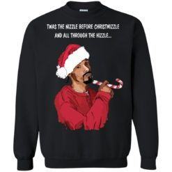Snoop Dogg twas the nizzle before Christmizzle Sweater shirt - image 3263 247x247