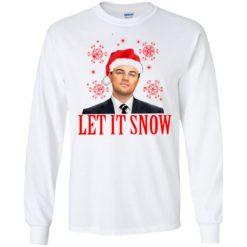 Leonardo wall Street let it snow Christmas Sweatshirt shirt - image 3414 247x247