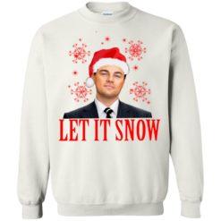 Leonardo wall Street let it snow Christmas Sweatshirt shirt - image 3417 247x247
