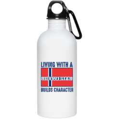 Living with a Norwegian builds character mug shirt - image 37 247x247