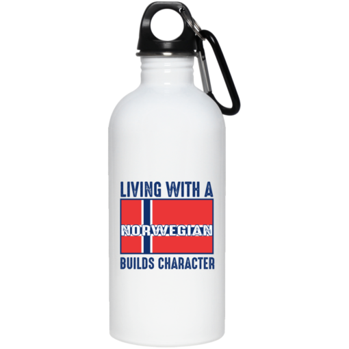 Living with a Norwegian builds character mug shirt - image 37 510x510