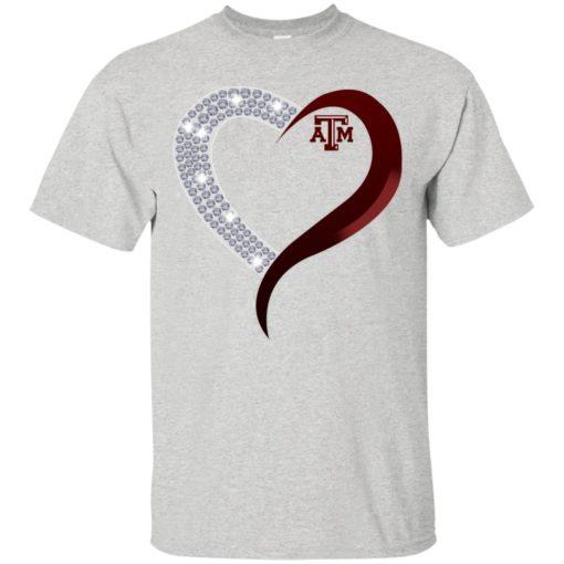 Diamond Heart Texas A&M Aggies shirt - image 3760 510x510