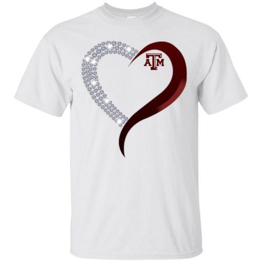 Diamond Heart Texas A&M Aggies shirt - image 3761 510x510