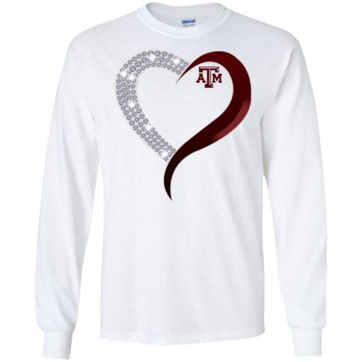 Diamond Heart Texas A&M Aggies shirt - image 3763 510x510