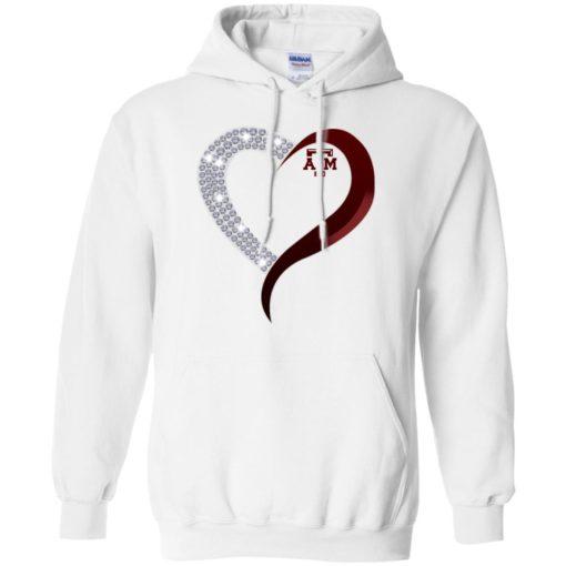 Diamond Heart Texas A&M Aggies shirt - image 3764 510x510