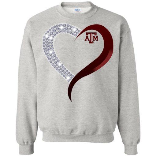 Diamond Heart Texas A&M Aggies shirt - image 3765 510x510