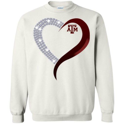 Diamond Heart Texas A&M Aggies shirt - image 3766 510x510