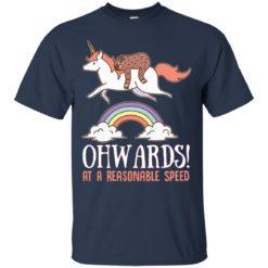 Unicorn onwards at a reasonable speed shirt - image 3806 247x247