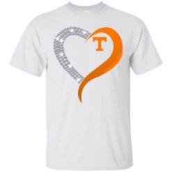 Diamond Heart Tennessee Volunteers shirt - image 3877 247x247