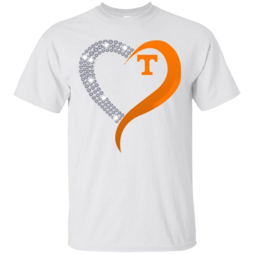 Diamond Heart Tennessee Volunteers shirt - image 3877 510x510
