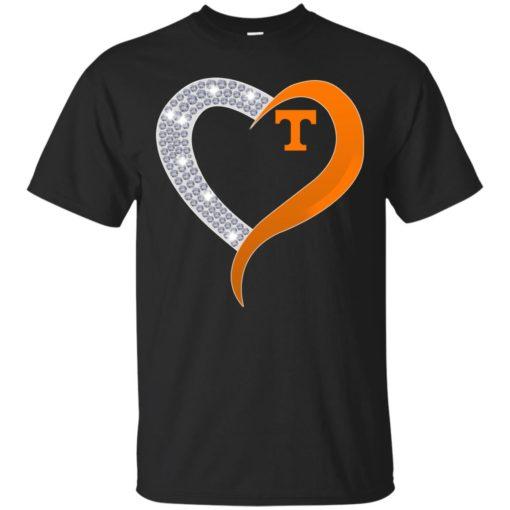Diamond Heart Tennessee Volunteers shirt - image 3878 510x510