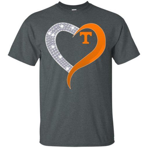 Diamond Heart Tennessee Volunteers shirt - image 3879 510x510
