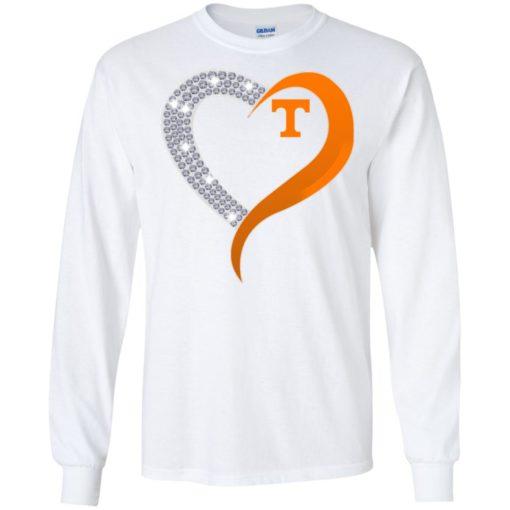 Diamond Heart Tennessee Volunteers shirt - image 3880 510x510