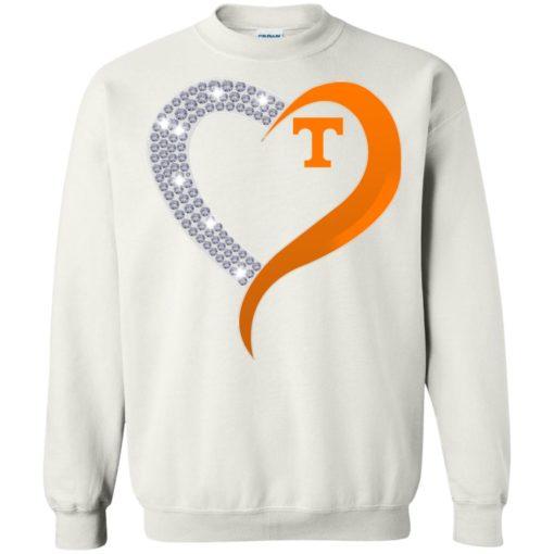 Diamond Heart Tennessee Volunteers shirt - image 3882 510x510
