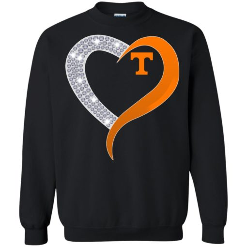 Diamond Heart Tennessee Volunteers shirt - image 3883 510x510
