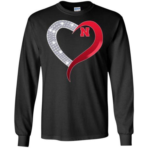 Diamond Heart Nebraska Cornhuskers shirt - image 3923 510x510