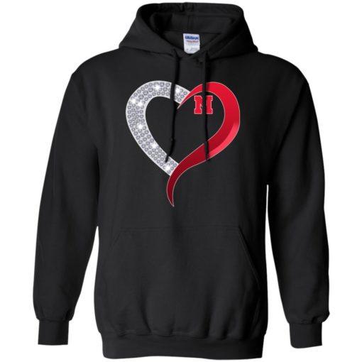 Diamond Heart Nebraska Cornhuskers shirt - image 3924 510x510