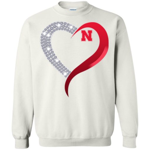 Diamond Heart Nebraska Cornhuskers shirt - image 3925 510x510