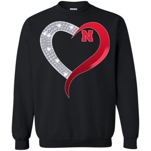 Diamond Heart Nebraska Cornhuskers shirt - image 3926 510x510