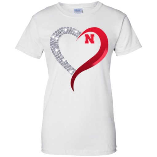 Diamond Heart Nebraska Cornhuskers shirt - image 3927 510x510