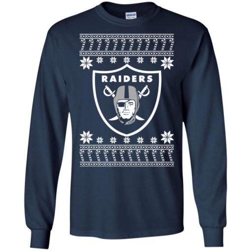 Oakland Raiders Christmas ugly sweater shirt - image 4071 510x510