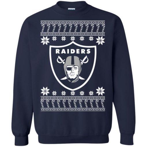 Oakland Raiders Christmas ugly sweater shirt - image 4074 510x510