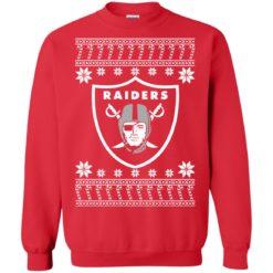 Oakland Raiders Christmas ugly sweater shirt - image 4075 247x247
