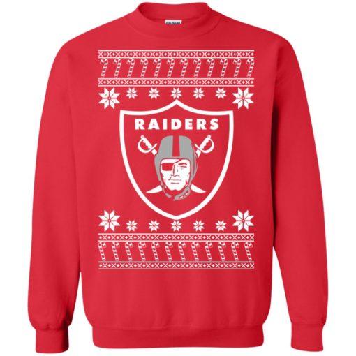 Oakland Raiders Christmas ugly sweater shirt - image 4075 510x510