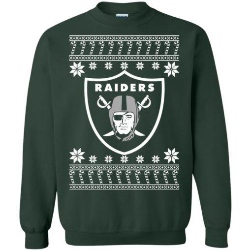 Oakland Raiders Christmas ugly sweater shirt - image 4076 510x510